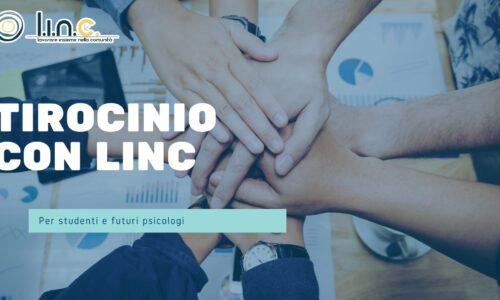Cogli l'opportunità di svolgere un Tirocinio con il team di Linc!